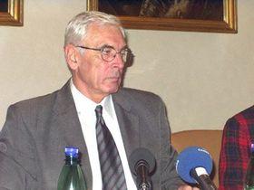 Rektor Univerzity Karlovy apředseda České konference rektorů Ivan Wilhelm