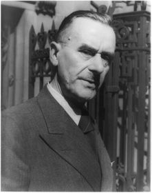 Thomas Mann, photo: Library of Congress, public domain