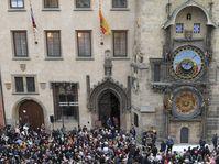 Prager astronomische Uhr ist wieder in Betrieb (Foto: ČTK / Ondřej Deml)