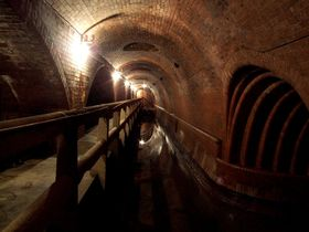 Underground sewers in Prague constructed by William Heerlein Lindley, photo: Mohylek, CC 3.0 license