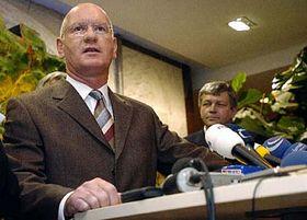 Předseda představenstva RWE Transgas Ulrich Jobs, foto: ČTK