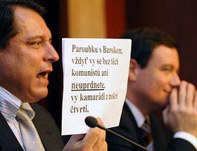 Jiří Paroubek dostal před volbami anonymní dopis, foto: ČTK