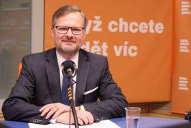 Petr Fiala, photo: Jana Přinosilová / Czech Radio