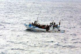 Беженцы в Средиземном море, иллюстративное фото: открытый источник