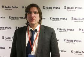 историк-украинист Давид Свобода, фото: Катерина Айзпурвит