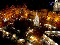 Christmas market on the Old Town Square, photo: Štěpánka Budková