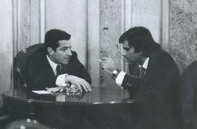 Conversación entre Adolfo Suárez y Felipe González