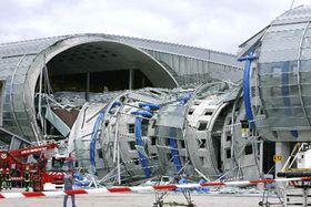 Аэропорт имени Шарля де Голля после трагедии, Париж (Фото: ЧТК)