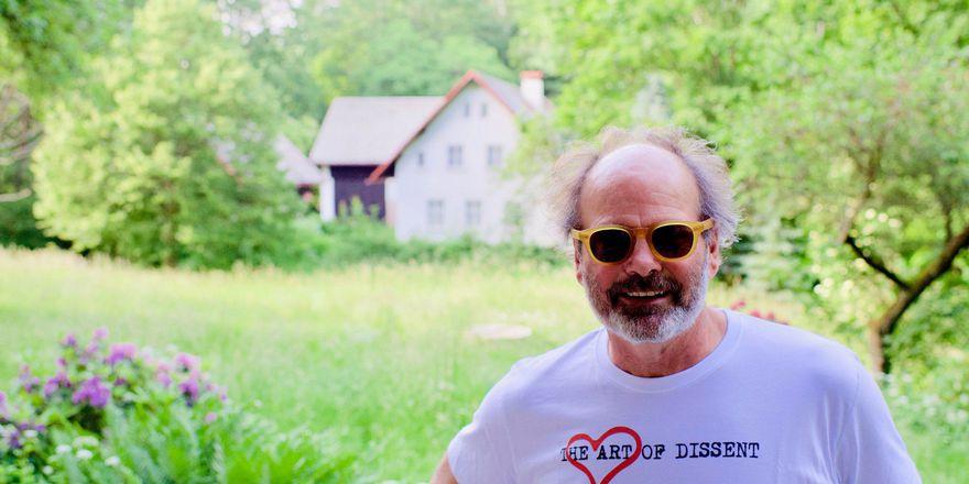 James D Le Sueur, photo: archive of Art of Dissent/James D Le Sueur