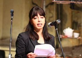Golnaz Esfandiari, photo: Štěpánka Budková