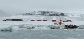 Johann Gregor Mendel Antarctic base, photo: archive of Masaryk University Brno