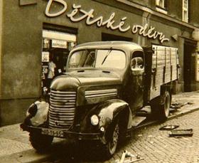 Hepnarovás Lkw (Foto: Archiv des Museums der Polizei)