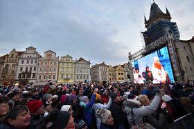 Old Town Square, Prague, February 26 2018, photo: Ondřej Tomšů