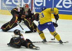 Suecia pasó a las semifinales tras derrotar a Alemania por 5-2, foto: ČTK