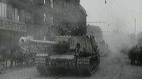 Красная армия, Чехословакия, май 1945г., Фото: ЧТ24