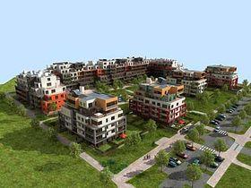 The project 'Západní město', photo: CTK