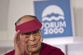 Dalái Lama en Praga, foto: ČTK