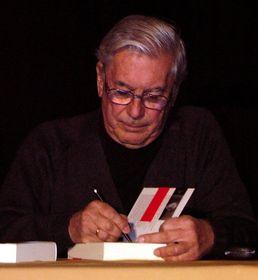 Mario Vargas Llosa, foto: Manuel González Olaechea y Franco, CC BY 3.0