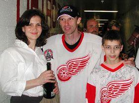 Доминик Гашек, его супруга Хелена и сын Михал (Фото: ЧТК)