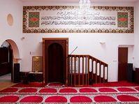 La mosquée de Brno