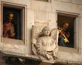 Las figuras de los Apóstoles, foto: Kristýna Maková, Archivo de ČRo - Radio Praga