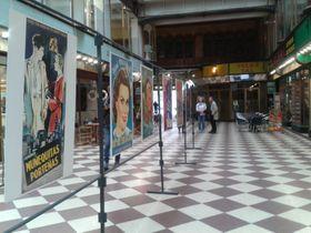 Exhibición de afiches cinematográficos, foto: Ana Briceño