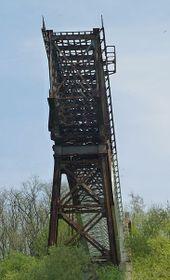 El  puente metálico de ferrocarril, foto: Podzemnik, CC BY-SA 3.0 Unported