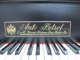 Фортепиано марки Petrof, фото: Мартина Шнайбергова