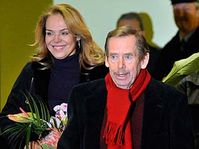 Dagmar et Václav Havel, photo: CTK