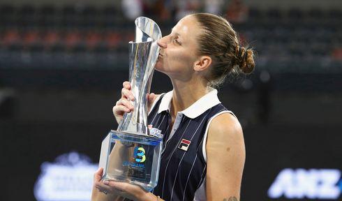 Karolína Plíšková, foto: ČTK/AP/Tertius Pickard