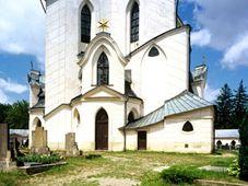 Под закон о церковных реституциях подпадает и паломническая церковь Святого Яна Непомуцкого на Зелёной Горе, Фото: CzechTourism