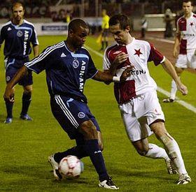 Slavia de Praga contra el  Ajax de Ámsterdam (Foto: CTK)