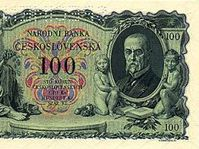 100 crown note from 1931
