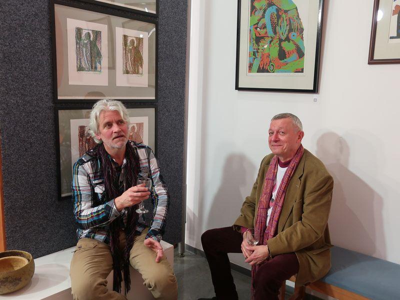 Marek Dobeš und Karel Aubrecht (Foto: Martina Schneibergová)