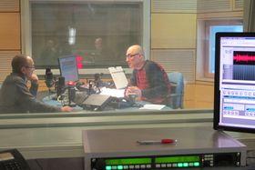 Александр Морозов и Кирилл Щелков в студии «Радио Прага» (Фото: Кристина Макова, Чешское радио)