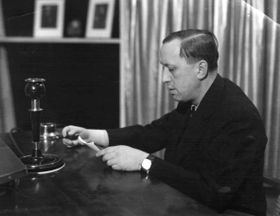 Karel Čapek, photo: Archives de ČRo