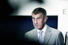 Andrej Babiš, photo: Michaela Danelová / Czech Radio