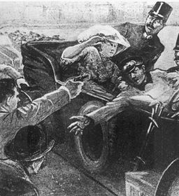 Сараевское покушение, 28-го июня 1914 г.