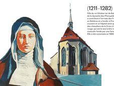Agnès de Bohême, source: Centres tchèques/FDULS