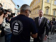 Petr Fiala (right), photo: CTK