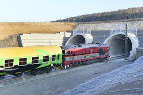 Tunnel bei Ejpovice (Foto: ČTK / Miroslav Chaloupka)