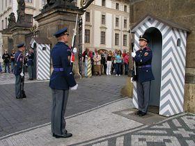 Guardia de Castillo de Praga, foto: © City of Prague