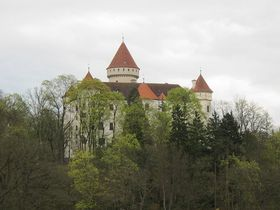 Schloss Konopiště (Foto: Martina Schneibergová)