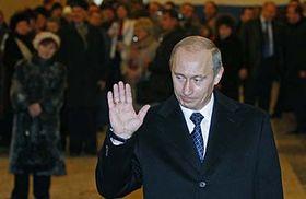Vladimir Poutine, photo: CTK