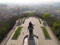 Le monument de Jan Žižka à la colline de Vítkov, photo: Kristýna Maková