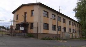 Flüchtlingslager für Männer in Vyšní Lhoty (Foto: ČT24)