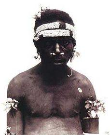 Nueva Guinea, foto: E.S.Vráz, de la colección del Museo Náprstek de Praga