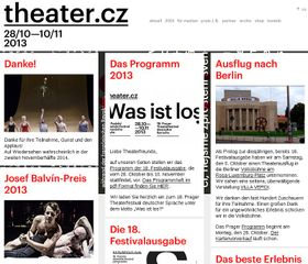 Prager Theaterfestival deutscher Sprache