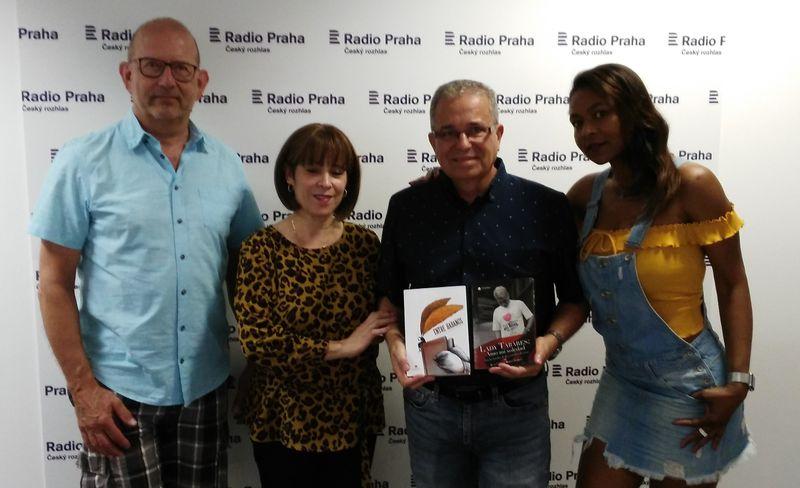 Juan Carlos Roque en Radio Praga