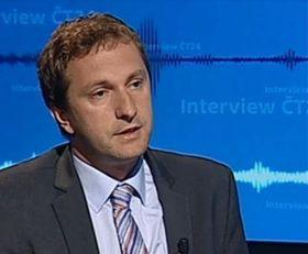 David Ondráčka, photo: Czech Television